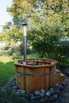 Hot Tub 1,5m aus Thermowood